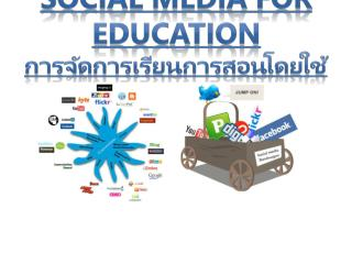 Social Media for Education ??????????????????????????  Social Media