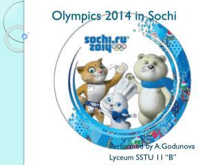 Olympics 2014 in Sochi