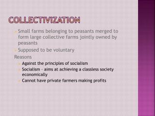 Collectivization