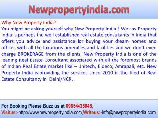 Unitech@09654435045 New Projects Pre EMI Offer Noida Unihome