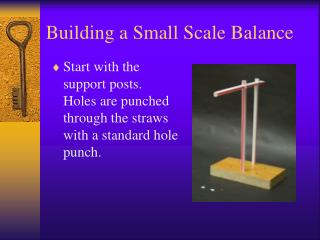 Building a Small Scale Balance