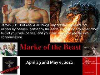 Marke  of the Beast