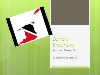 Zane's Brochure