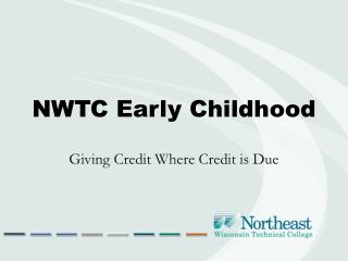 NWTC Early Childhood