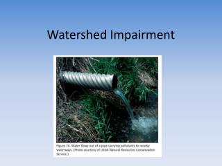 Watershed Impairment