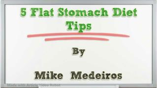 ppt 36712 5 Flat Stomach Diet Tips