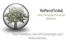 YoPersFinAd Your Personal Financial Advisors