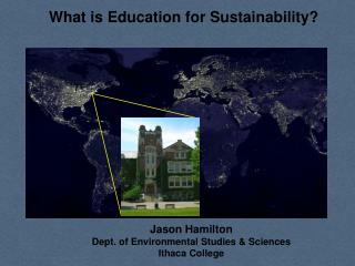 What is Education for Sustainability?
