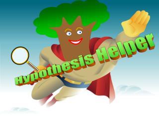 Hypothesis Helper