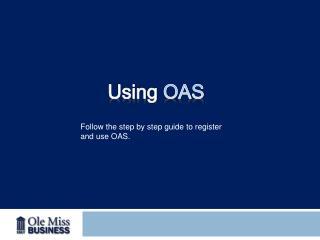 Using  OAS
