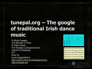 tunepal.org – The  google  of traditional Irish dance music