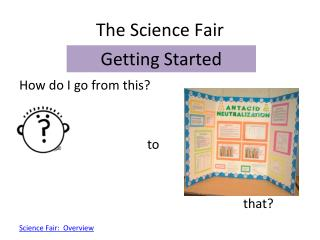The Science Fair