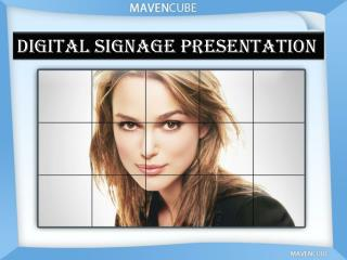 Digital signage Presentation