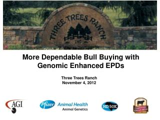 More Dependable Bull Buying with Genomic Enhanced EPDs