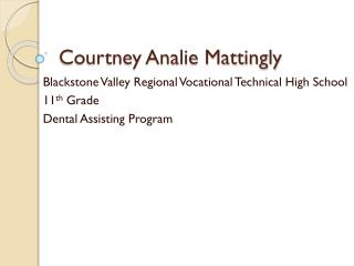Courtney Analie Mattingly