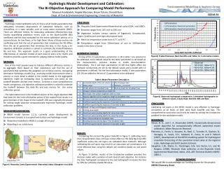 Hydrologic Model Development and Calibration: