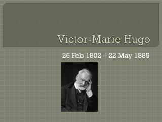 Victor-Marie Hugo