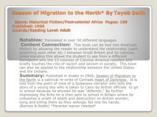 Notables:  Translated in over 30 different languages