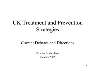 UK Treatment and Prevention Strategies