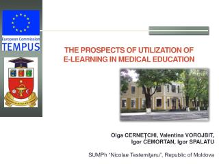 THE PROSPECTS OF UTILIZATION  OF  E-LEARNING  IN MEDICAL EDUCATION