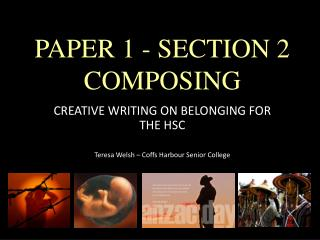 PAPER 1 - SECTION 2 COMPOSING