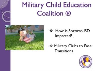 Military Child Education Coalition ®