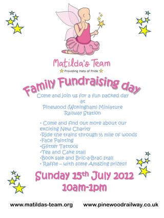 Family Fundraising day