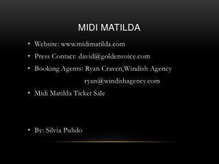 Midi Matilda