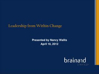 Leadership from Within Change
