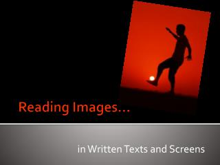 Reading Images…