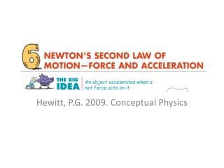 6 Newton's Second Law of Motion   Force and Acceleration