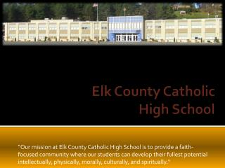 Elk County Catholic  High School