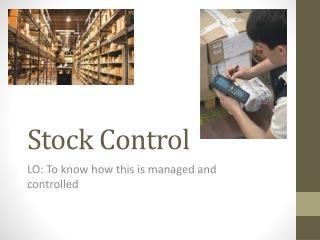 Stock Control