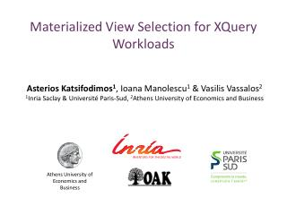 Materialized View Selection for XQuery Workloads