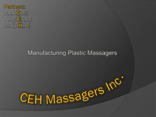 CEH Massagers Inc.