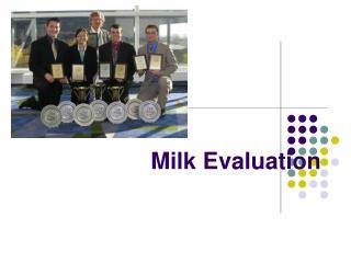 Milk Evaluation