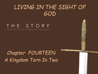 LIVING IN THE SIGHT OF GOD