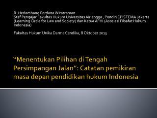 R. Herlambang Perdana Wiratraman