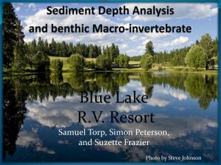 Sediment Depth Analysis  and benthic Macro-invertebrate