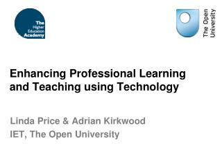 Enhancing Professional Learning and Teaching using Technology
