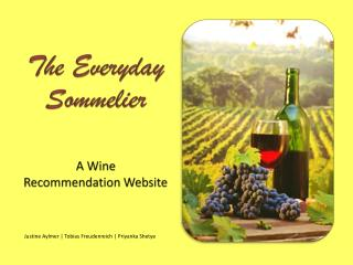 The Everyday Sommelier