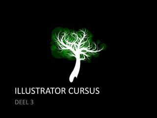 ILLUSTRATOR CURSUS