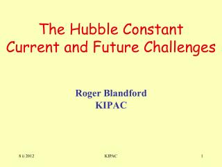 The Hubble Constant  Current and Future Challenges