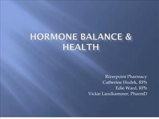 Hormone Balance 2004