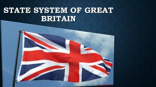 State system of Great Britain