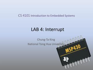 LAB 4: Interrupt