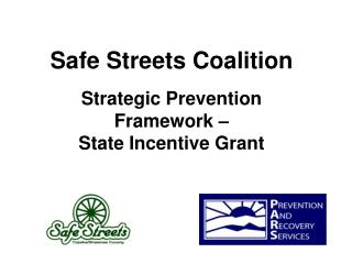 Strategic Prevention Framework –  State Incentive Grant