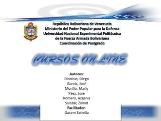 Rep ú blica Bolivariana de Venezuela Ministerio del Poder Popular para la Defensa