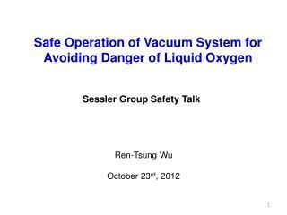 Sessler  Group Safety Talk