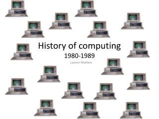 History of computing 1980-1989